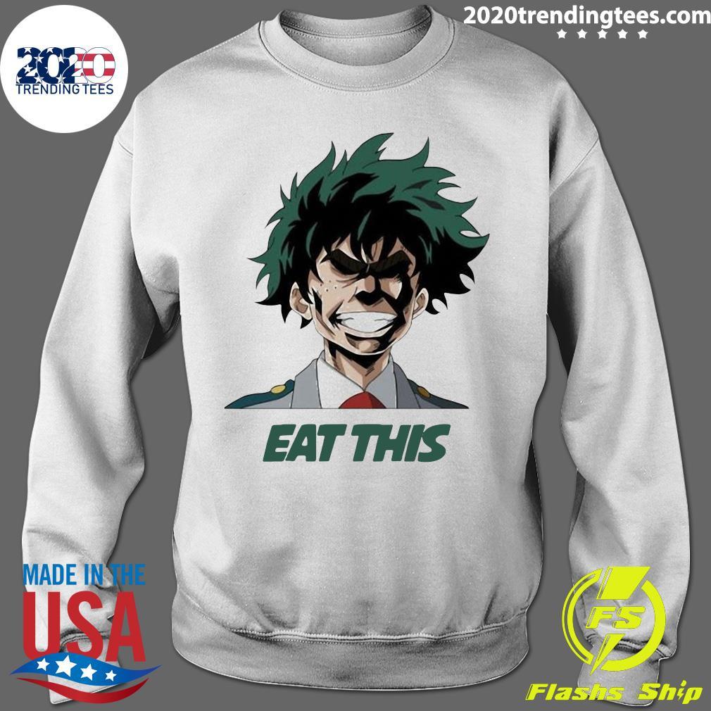 My Hero Academia Eat This Shirt Sweater
