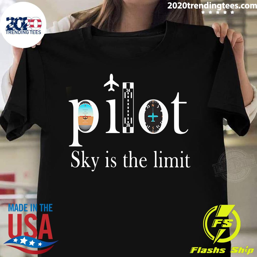 Pilot Sky Is The Limit Shirt