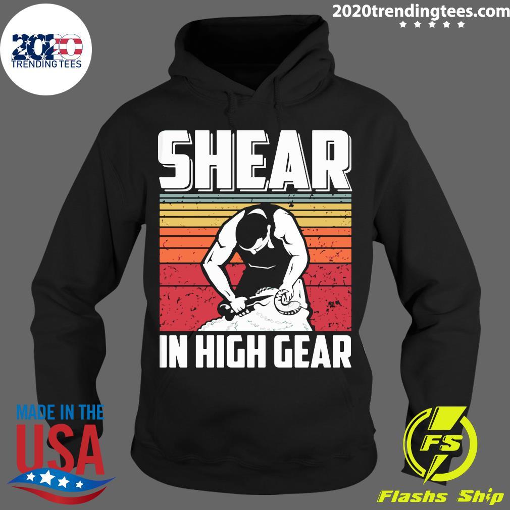 Shear In High Gear Vintage Retro Shirt Hoodie