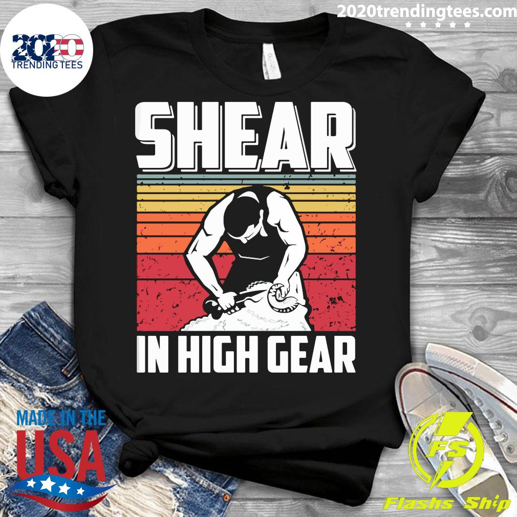 Shear In High Gear Vintage Retro Shirt Ladies tee