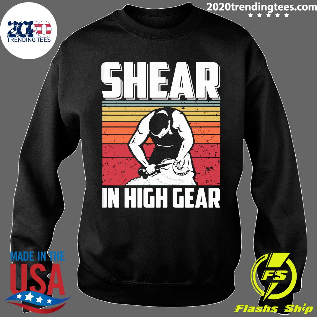 Shear In High Gear Vintage Retro Shirt Sweater