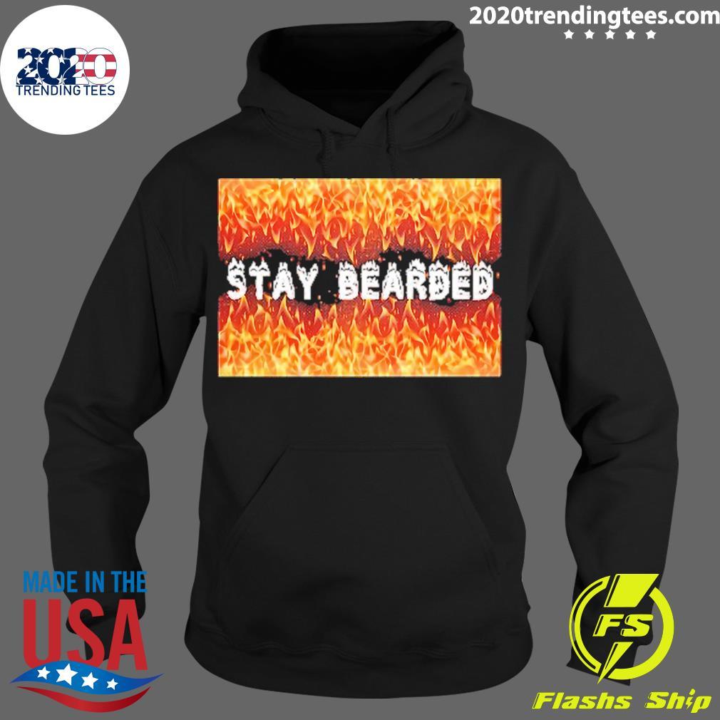 Stay Bearded Vintage Shirt Hoodie