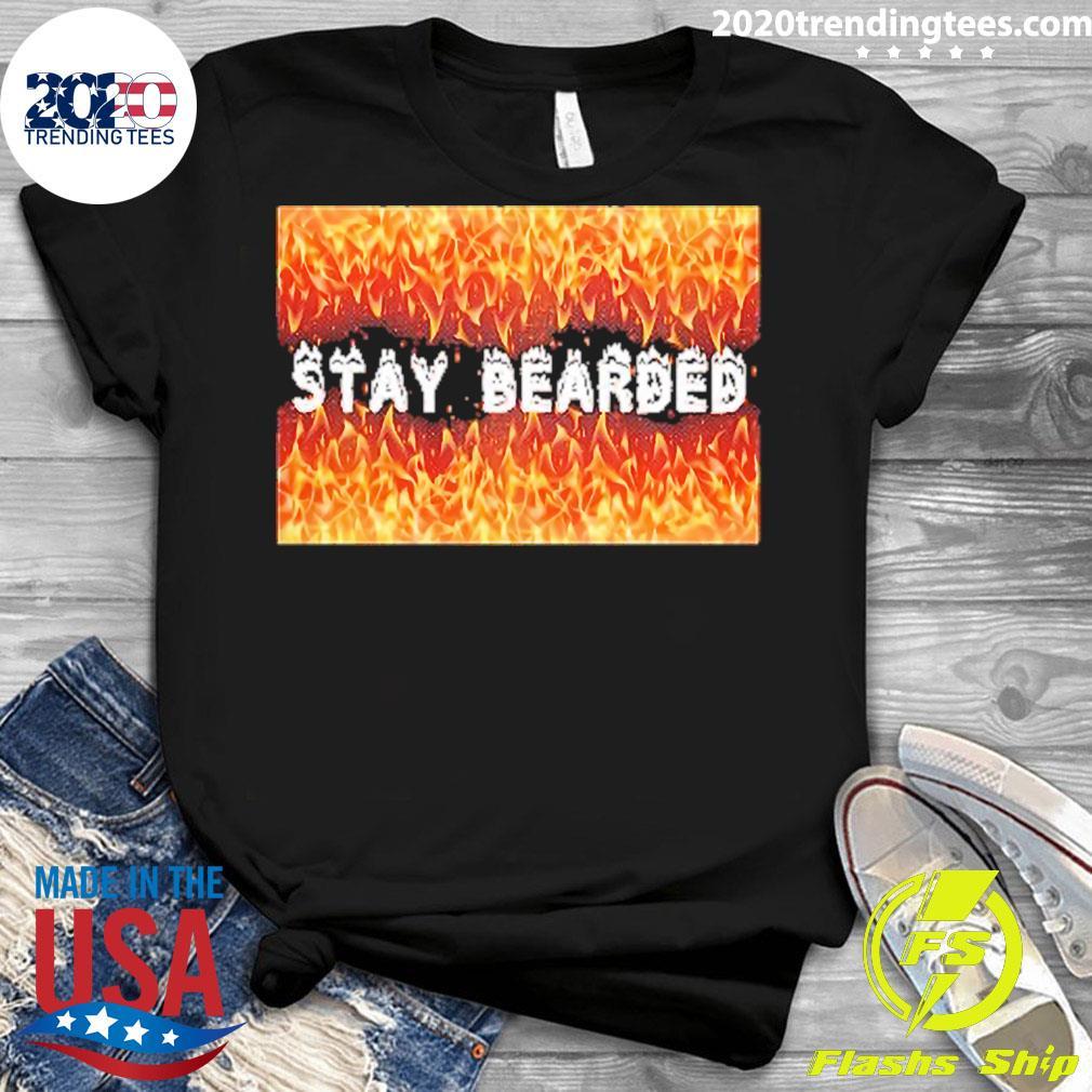 Stay Bearded Vintage Shirt Ladies tee