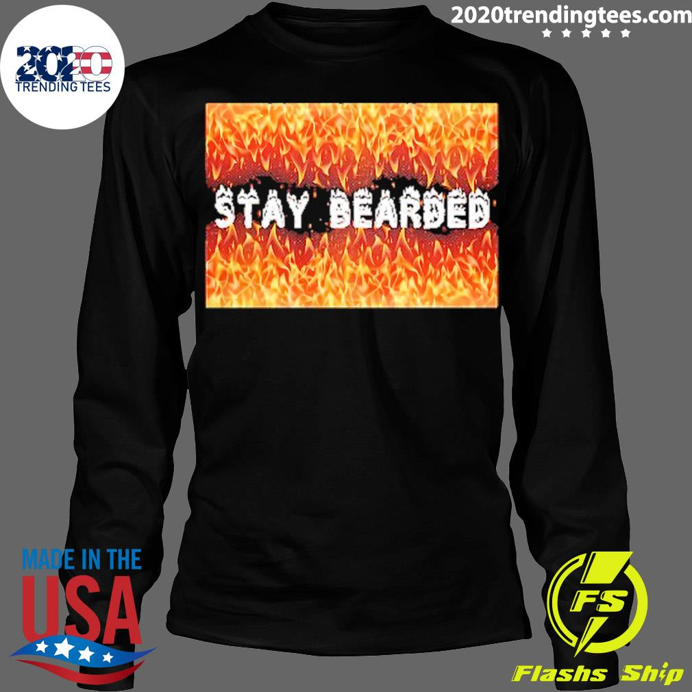 Stay Bearded Vintage Shirt Longsleeve