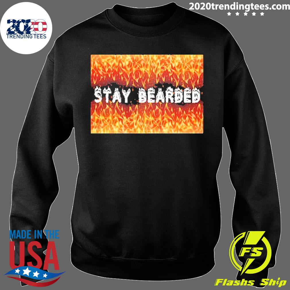 Stay Bearded Vintage Shirt Sweater
