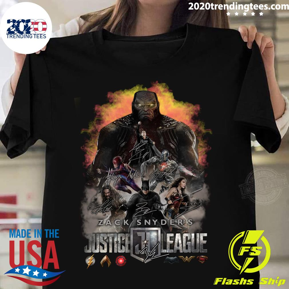 Zack Snyder Justice League 2021 Shirt
