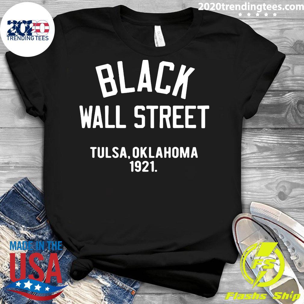 Black Wall Street Tulsa Oklahoma 1921 Shirt Ladies tee