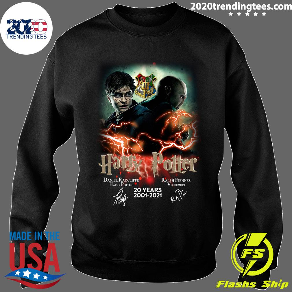 Confrontation Harry Potter Vs Voldemort 20 Years 2001 - 2021 Signatures Shirt Sweater