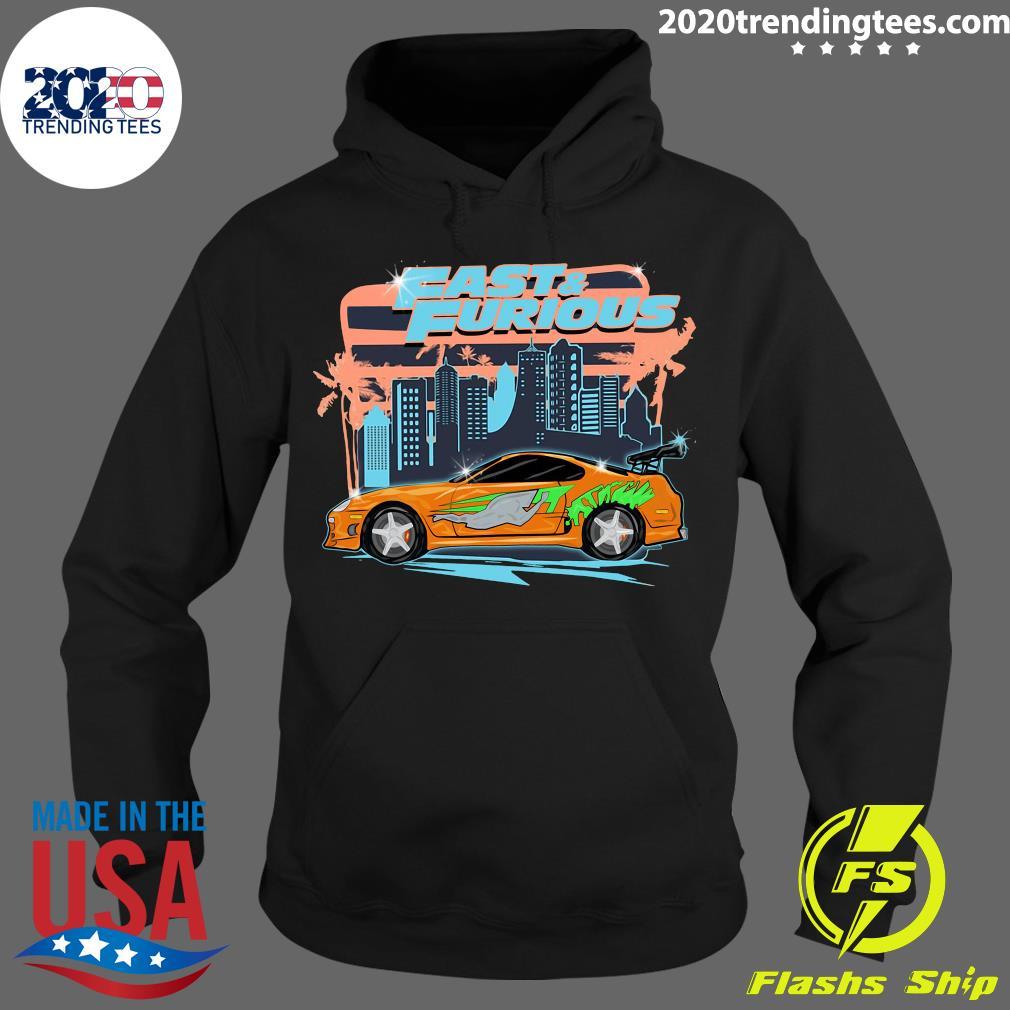 Fast And Furious Car Street Shirt Hoodie