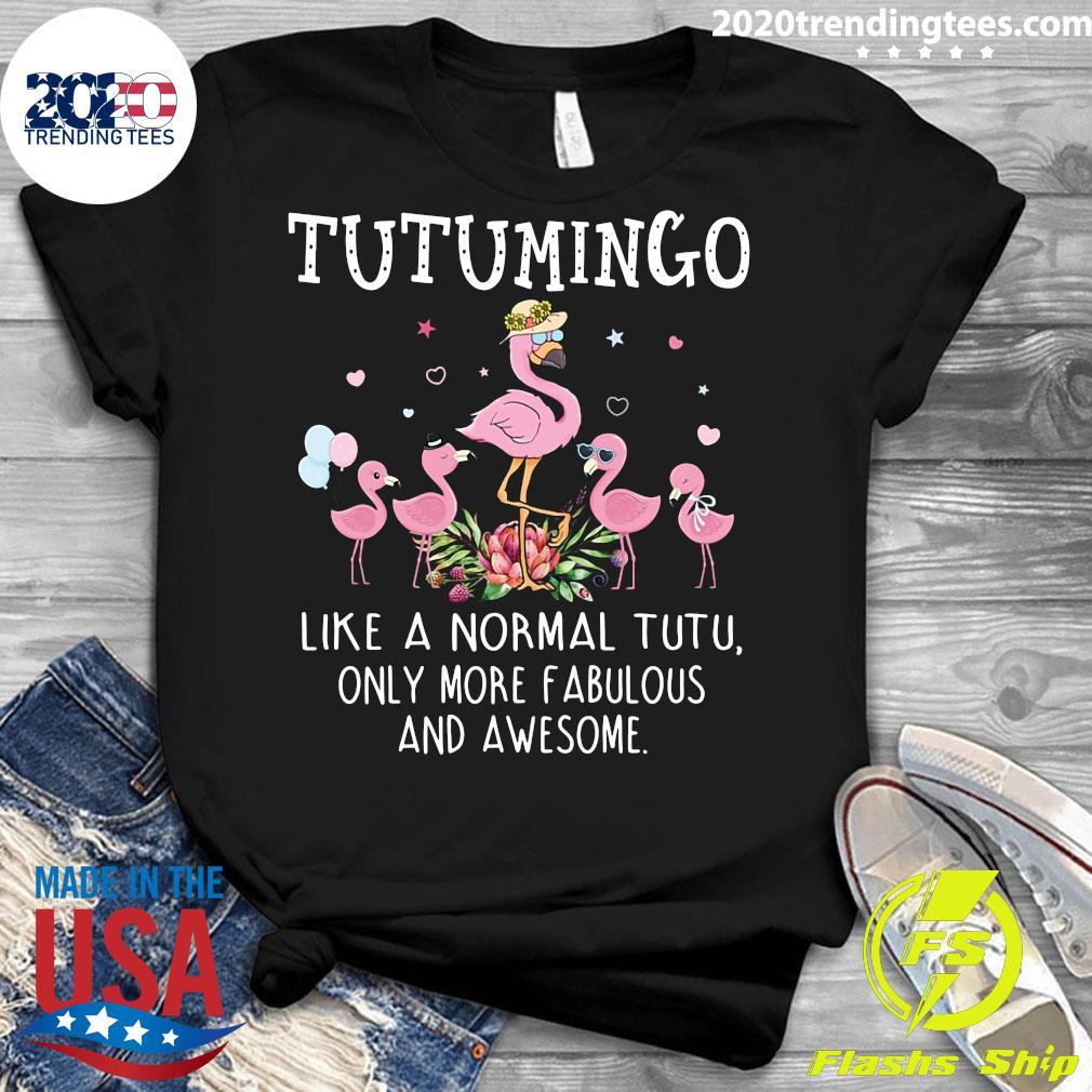 Grandma Tutu Mingo Like A Normal Teetee Only More Fabulous And Awesome Shirt Ladies tee