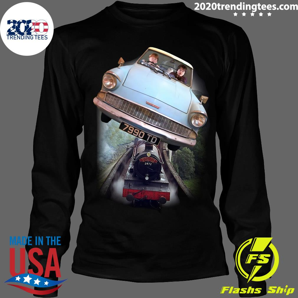 Harry Potter and Ron Car Flying 7990 TD Shirt Longsleeve