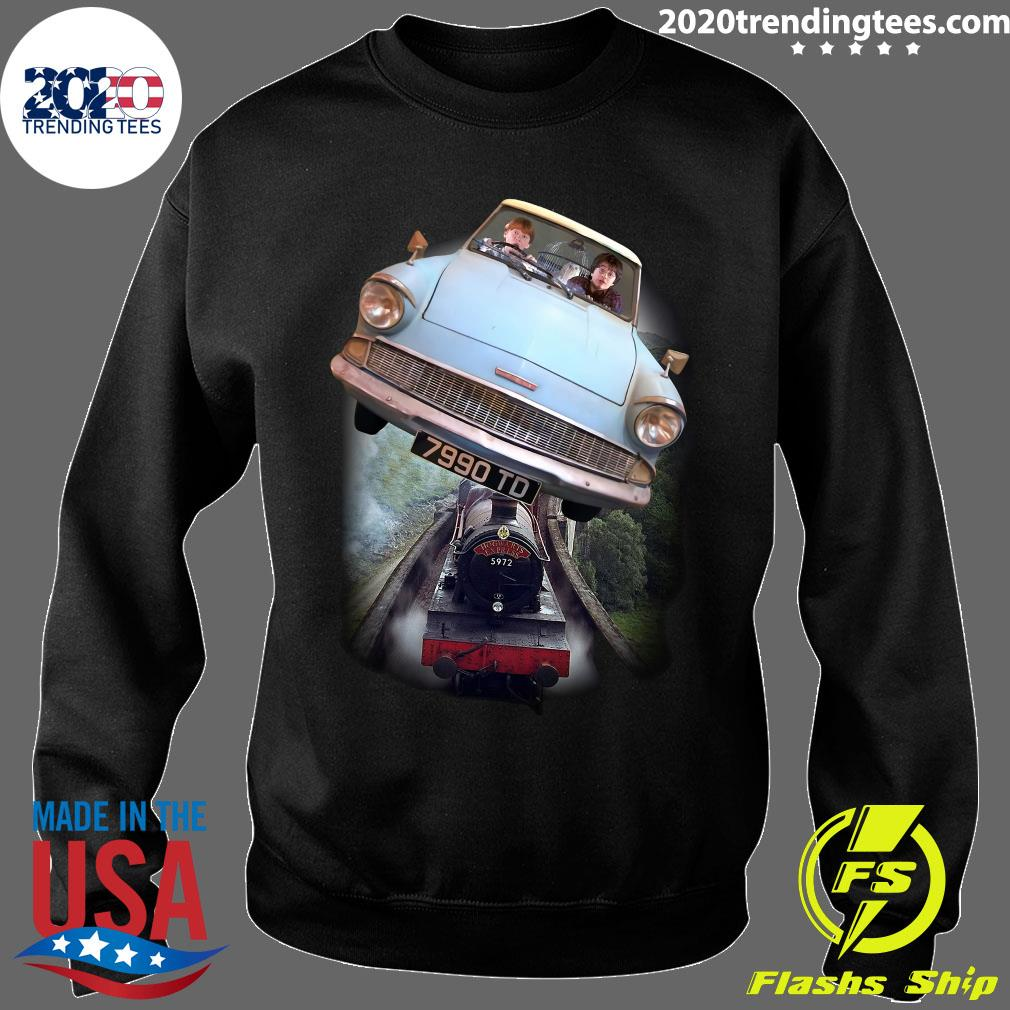 Harry Potter and Ron Car Flying 7990 TD Shirt Sweater