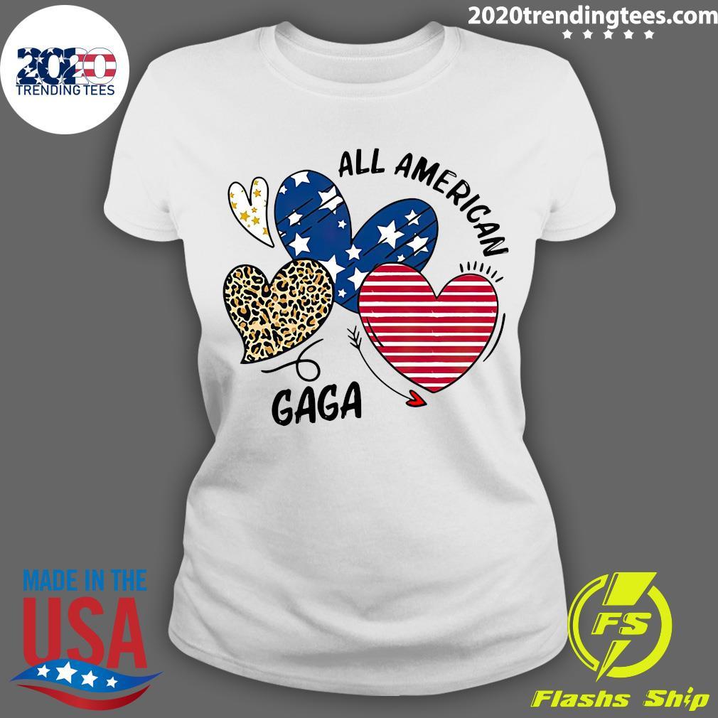 Heart All American Gaga Shirt Ladies tee