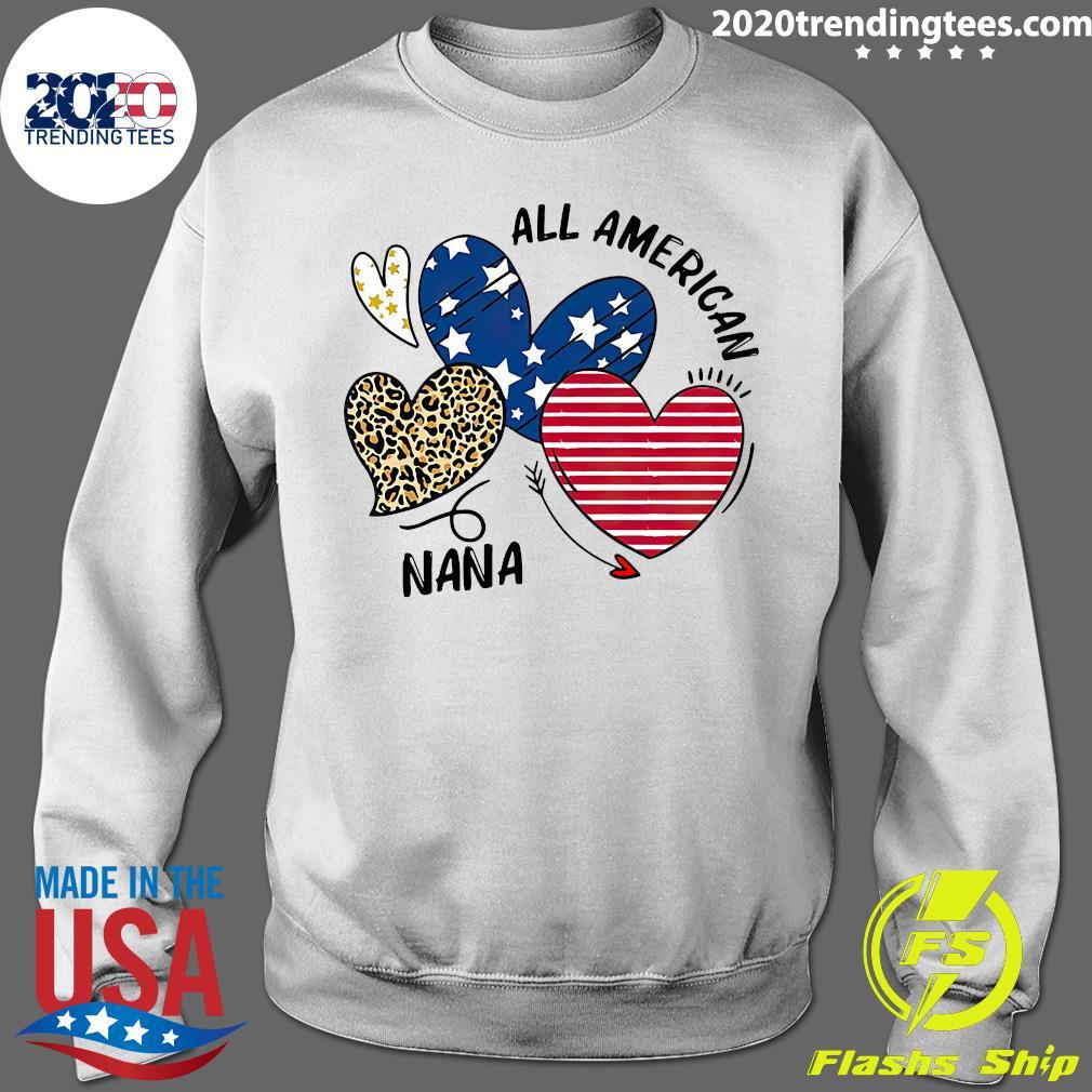 Heart All American Nana Shirt Sweater