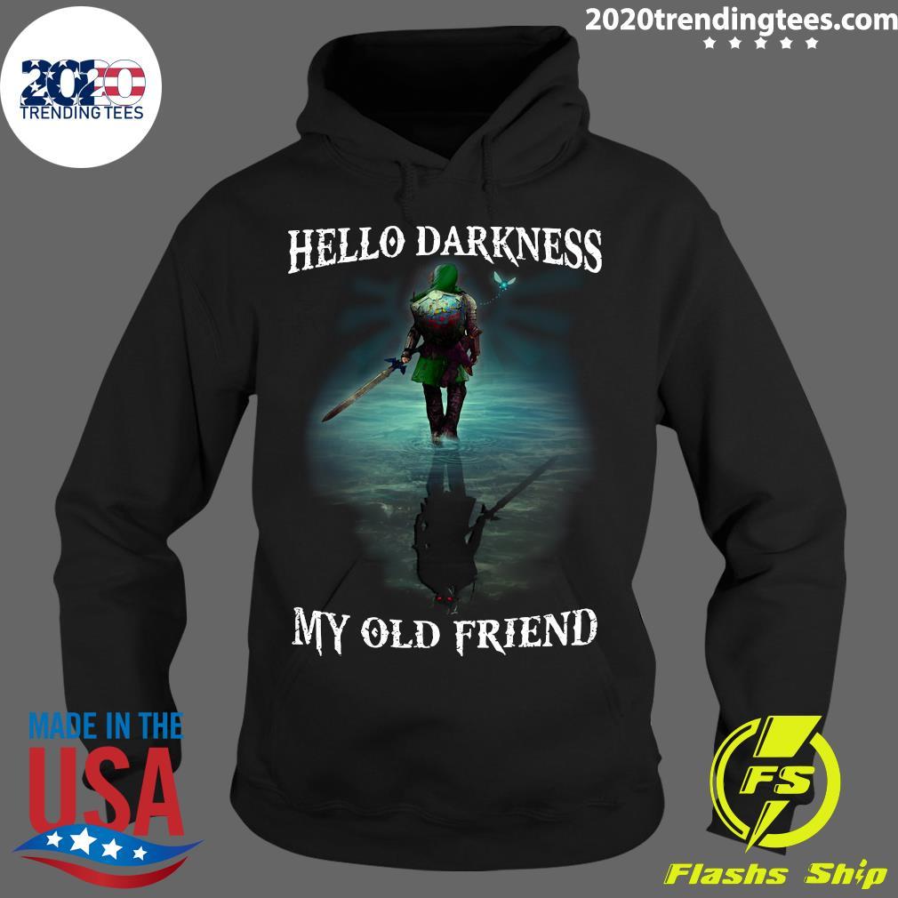 Hello Darkness My Old Friend Shirt Hoodie