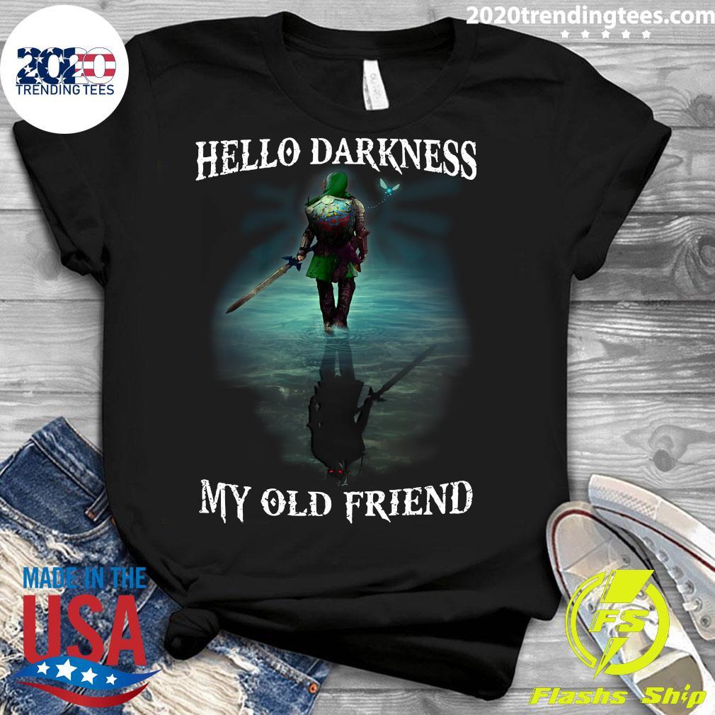 Hello Darkness My Old Friend Shirt Ladies tee