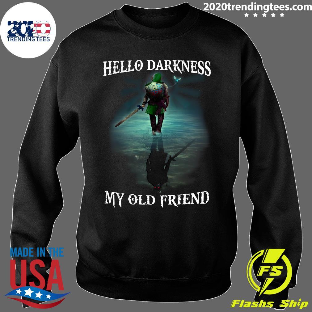 Hello Darkness My Old Friend Shirt Sweater