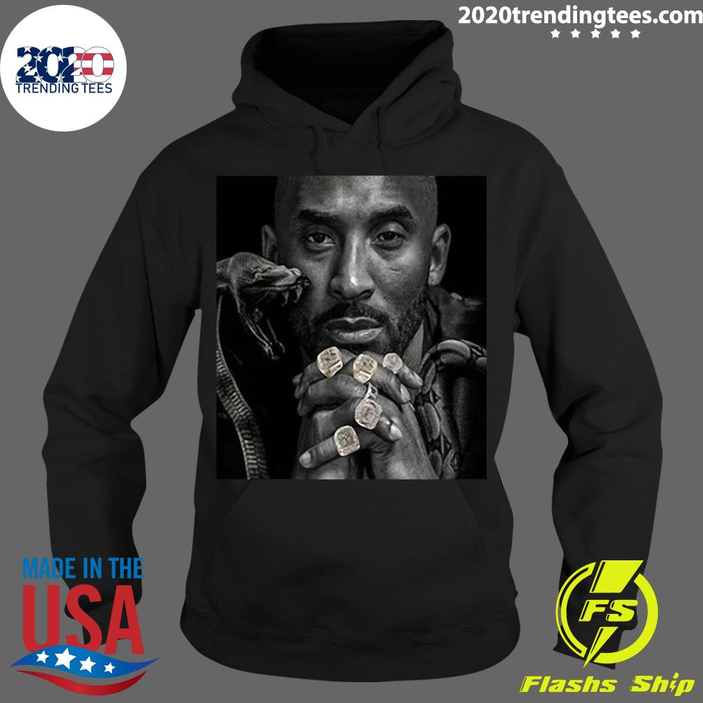 Official The Black Mamba Kobe Championship Rings T-s Hoodie