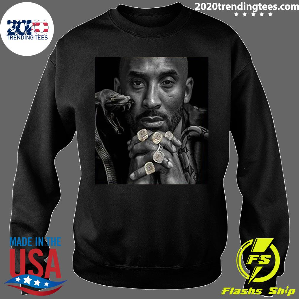 Official The Black Mamba Kobe Championship Rings T-s Sweater