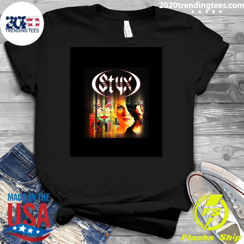 Styx Band Pieces Of Eight 1978 Shirt Ladies tee