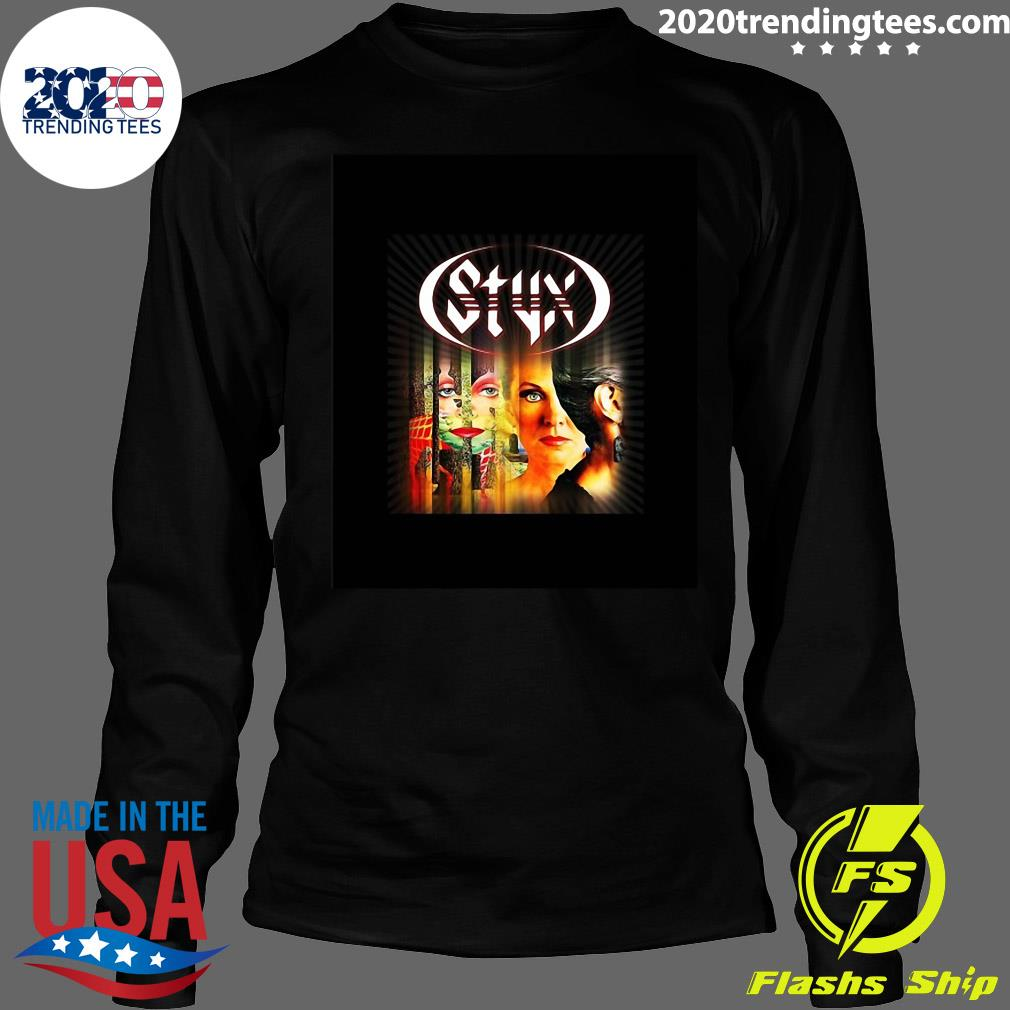 Styx Band Pieces Of Eight 1978 Shirt Longsleeve