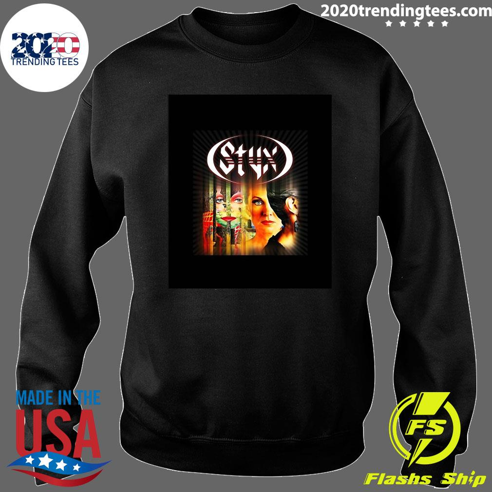 Styx Band Pieces Of Eight 1978 Shirt Sweater
