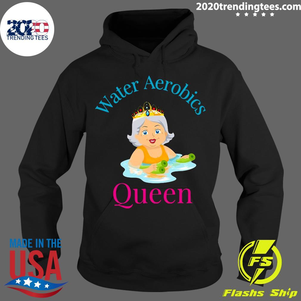 Water Aerobics Queen – Senior Women Shirt Hoodie