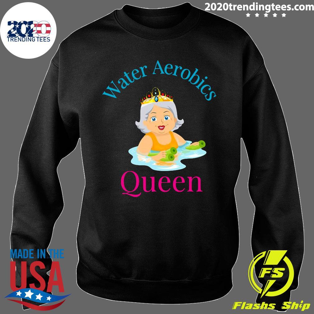 Water Aerobics Queen – Senior Women Shirt Sweater