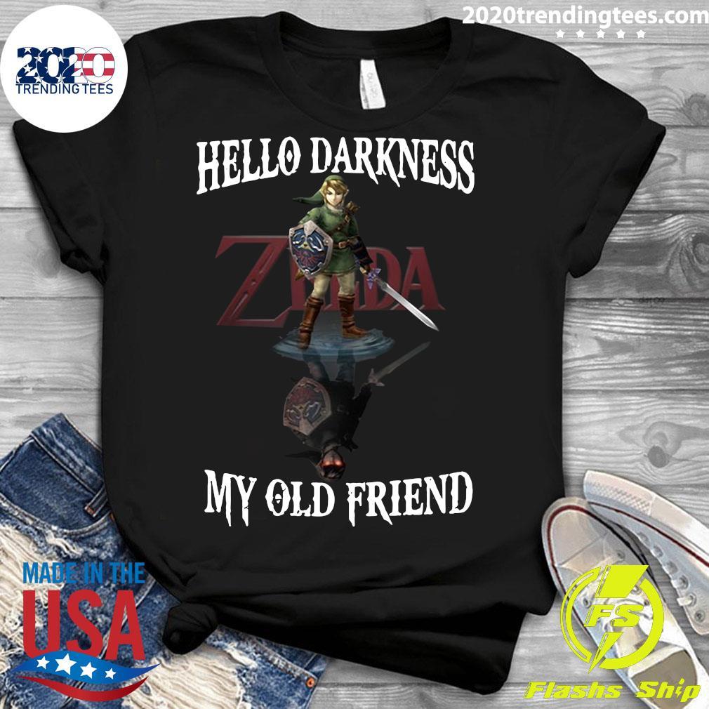 Zelda Hello Darkness My Old Friend Shirt Ladies tee