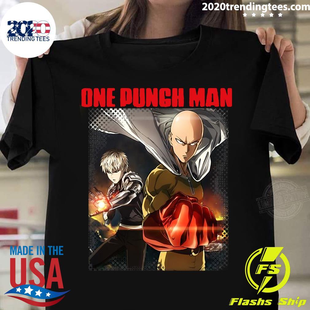 Anime One Punch Kawaii Otaku Man Japanese Waifu Manga Shirt