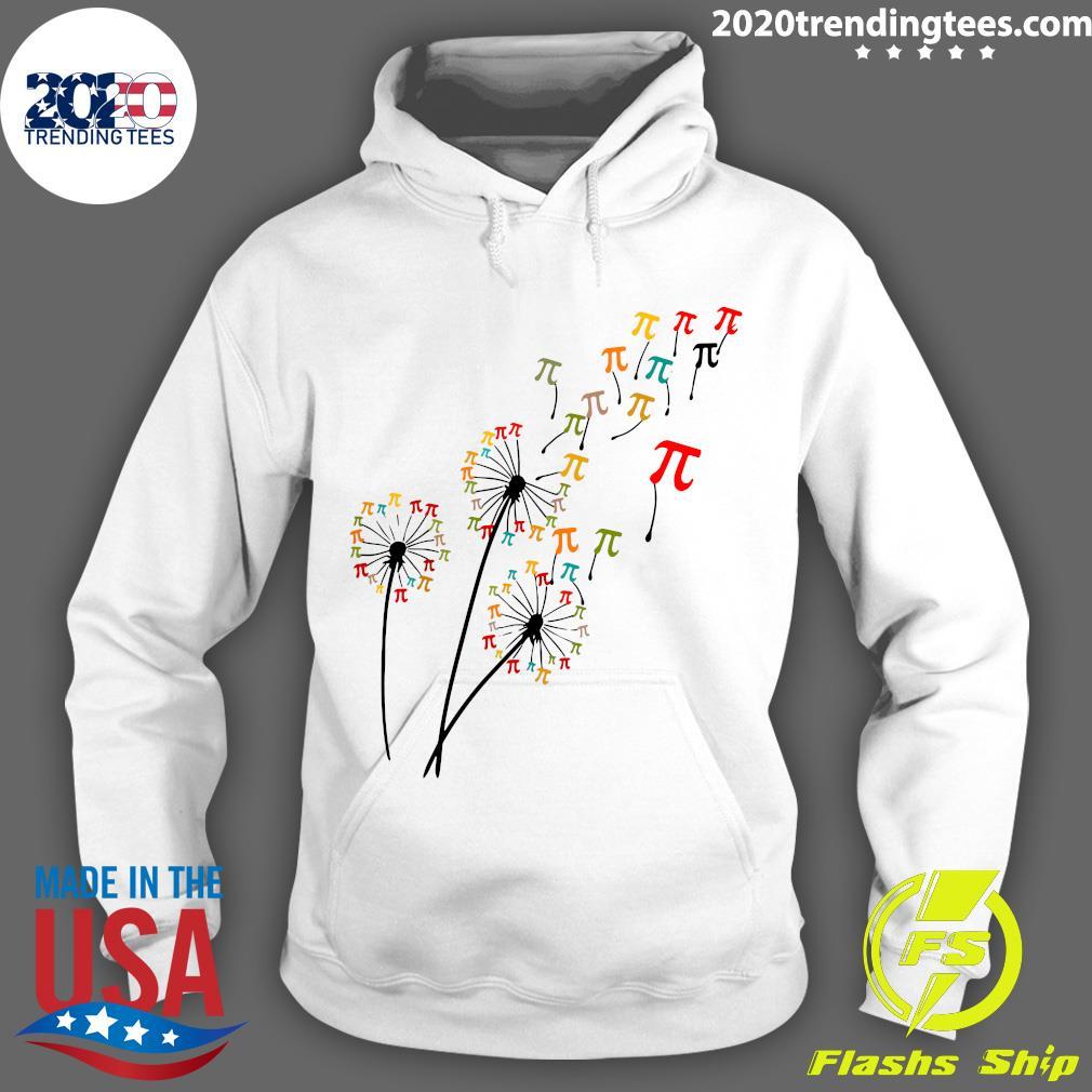 Dandelion Pi Day Flower Floral Pi Day Tree Shirt Hoodie