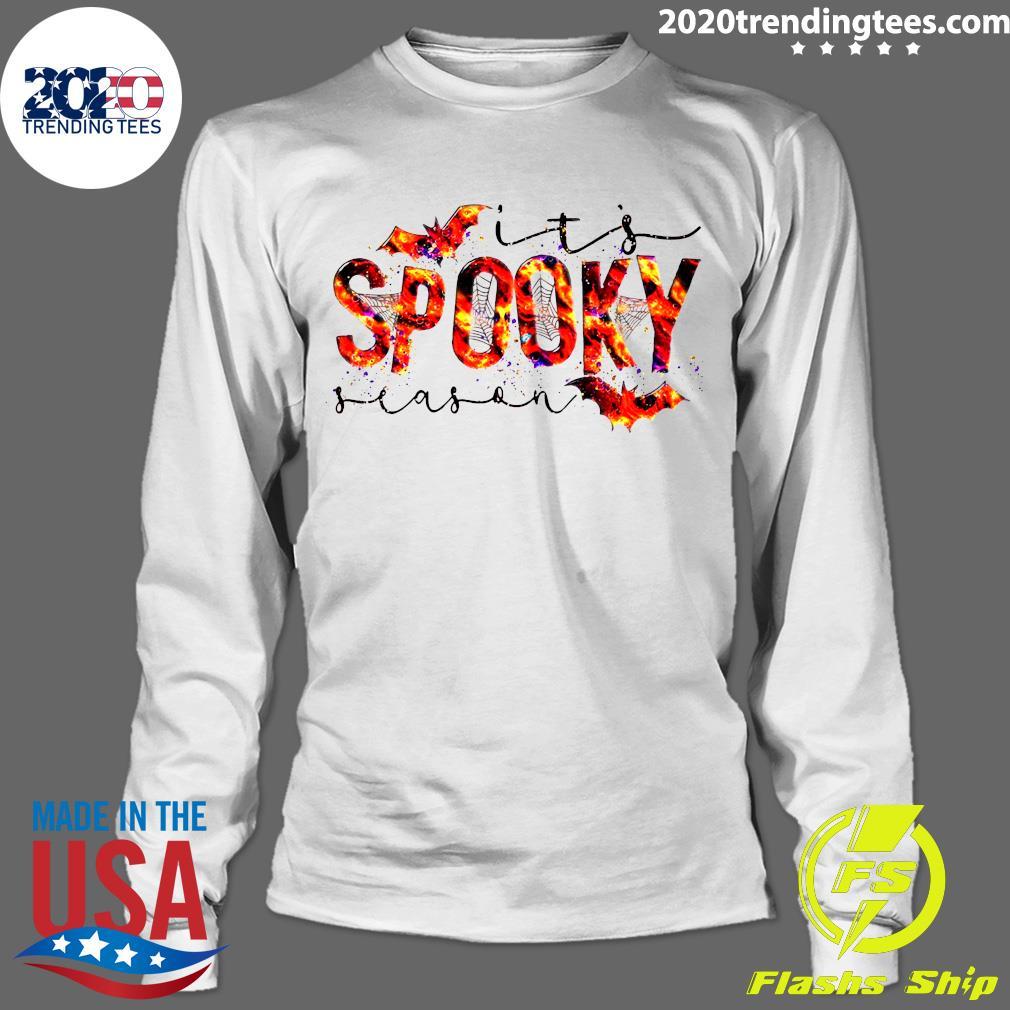 It's Spooky Season Halloween Shirt Longsleeve