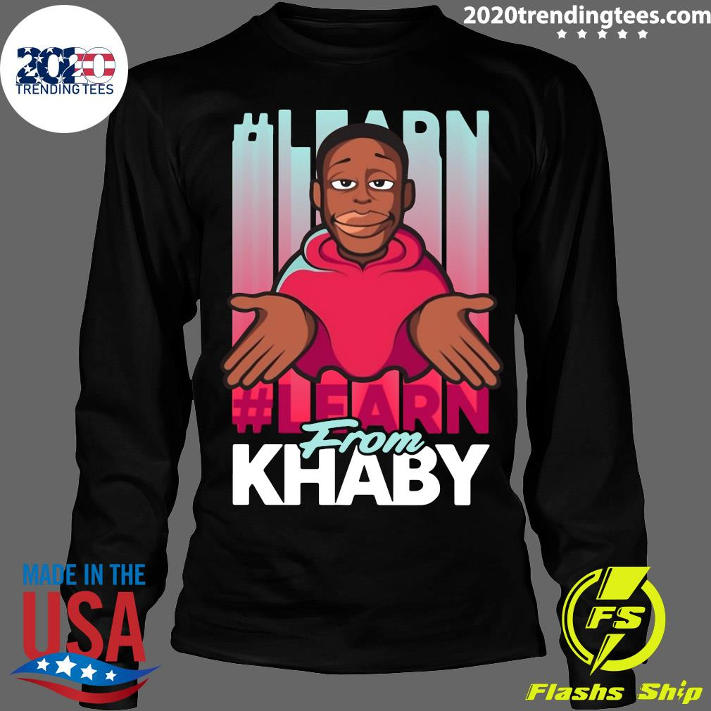 Khaby Lame Tee Shirt Longsleeve