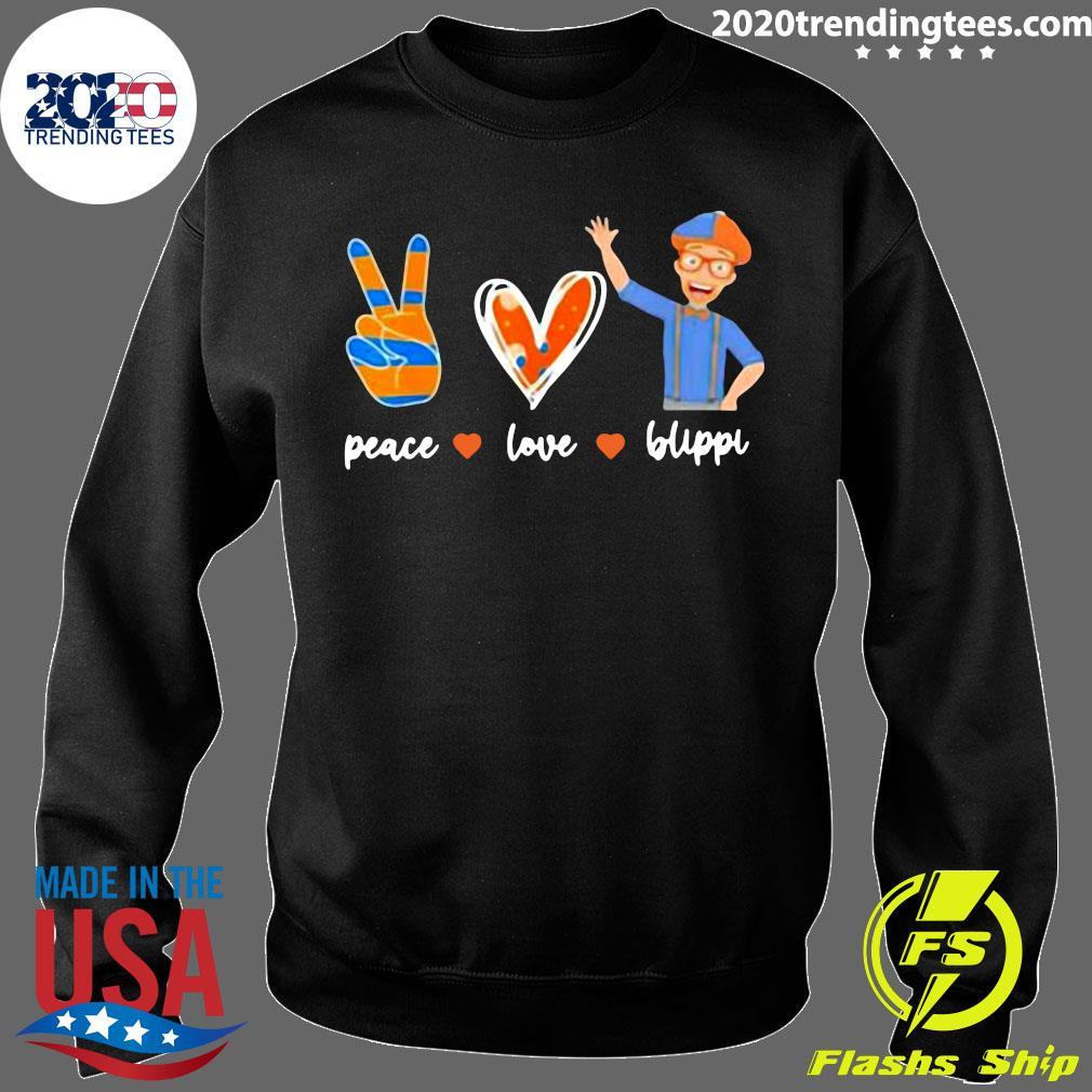 Peace Love Blippis Shirt Sweater