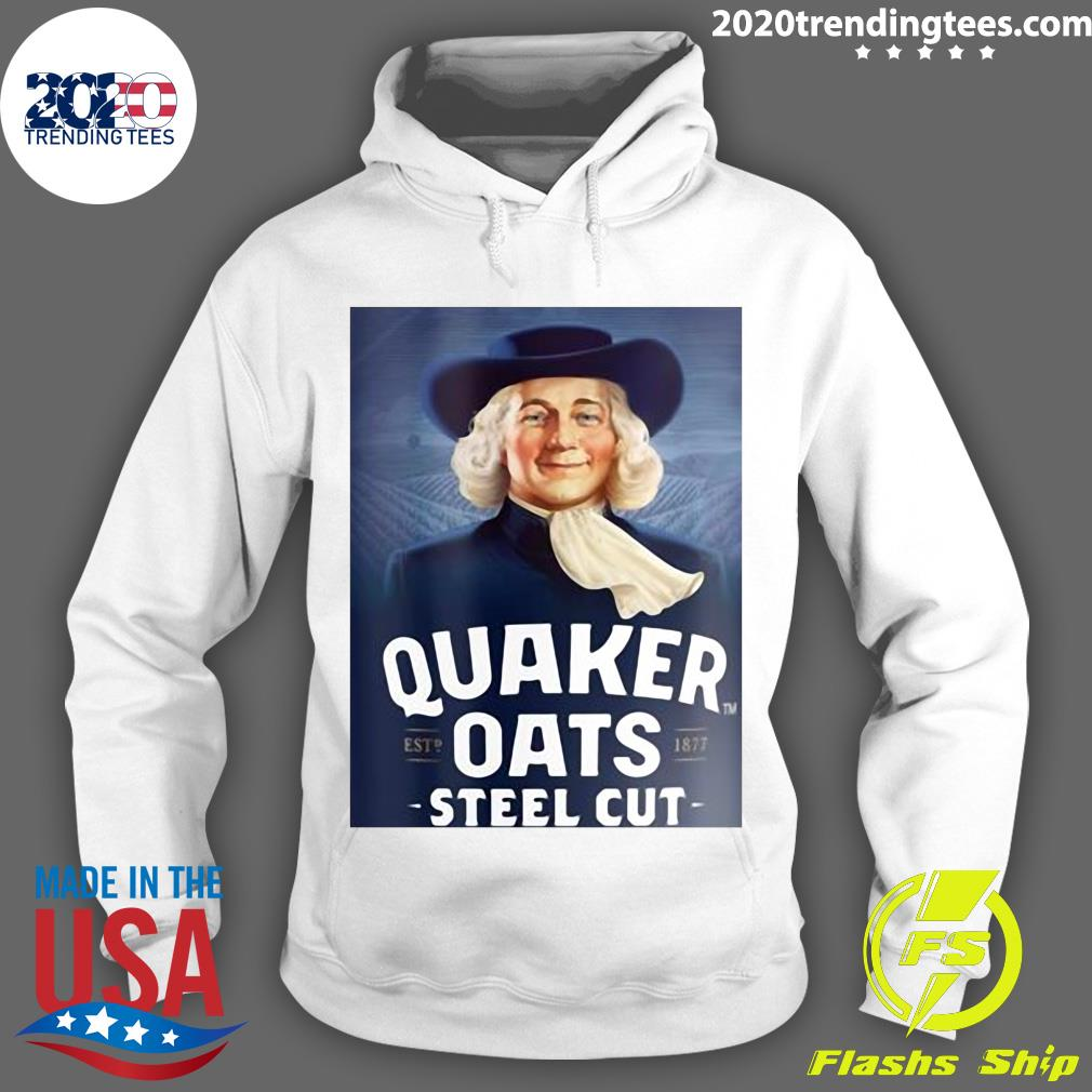 Quaker Steel Cut Oats 1877 Shirt Hoodie