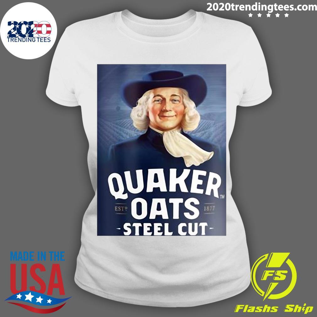 Quaker Steel Cut Oats 1877 Shirt Ladies tee