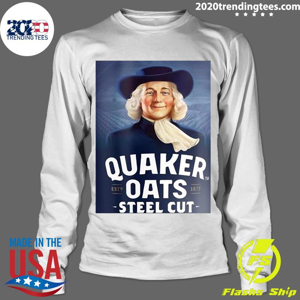 Quaker Steel Cut Oats 1877 Shirt Longsleeve