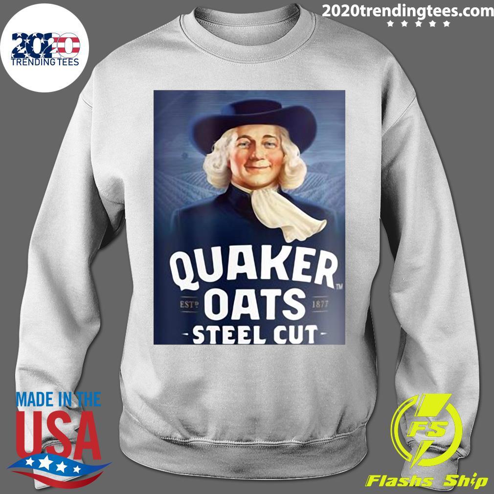 Quaker Steel Cut Oats 1877 Shirt Sweater