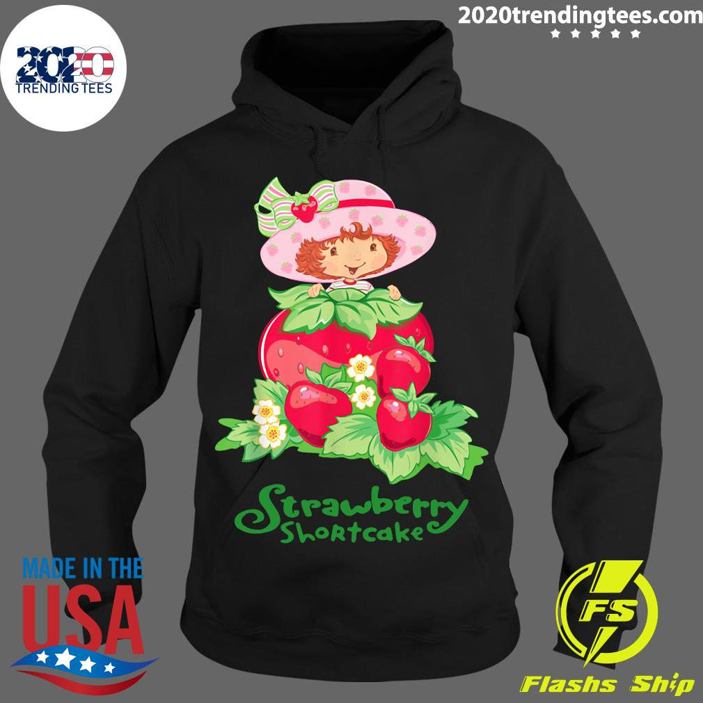 Retro Strawberry Art Shortcakes Cartoons Outfits Adventures Shirt Hoodie