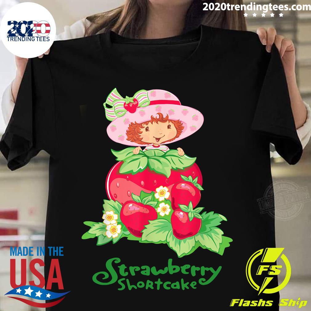 Retro Strawberry Art Shortcakes Cartoons Outfits Adventures Shirt