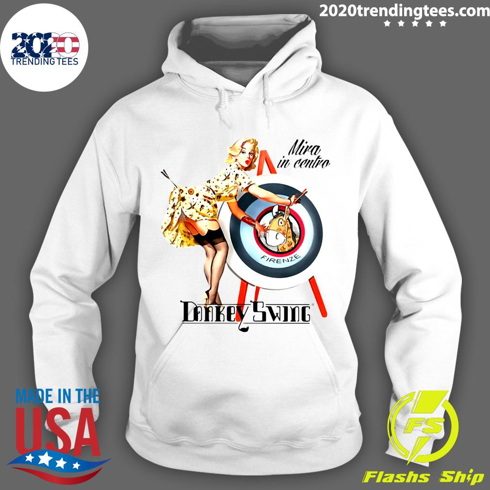 Donkey 262 Pin Up Aim For The Center Shirt Hoodie