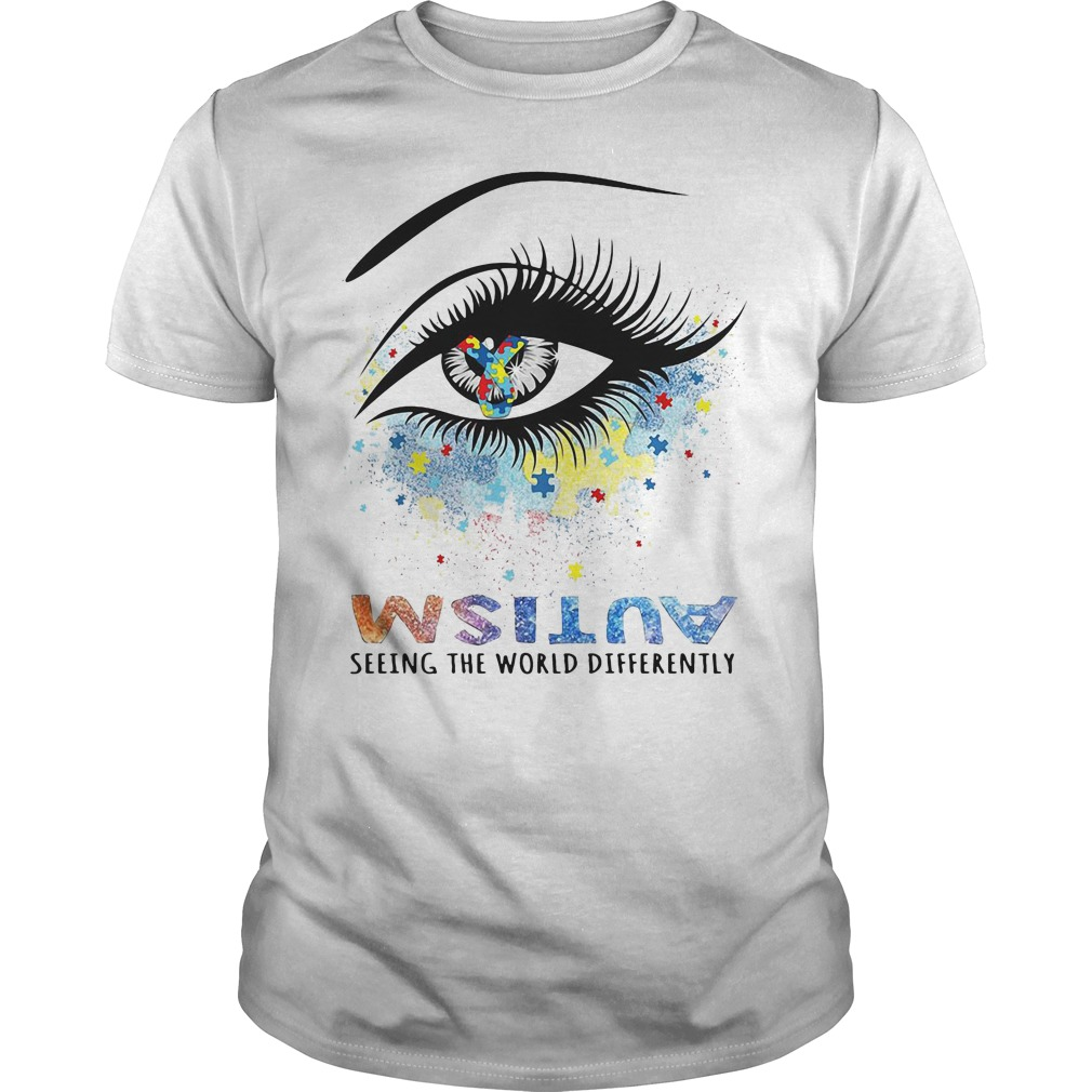 Autism Seeing The World Differently Shirt