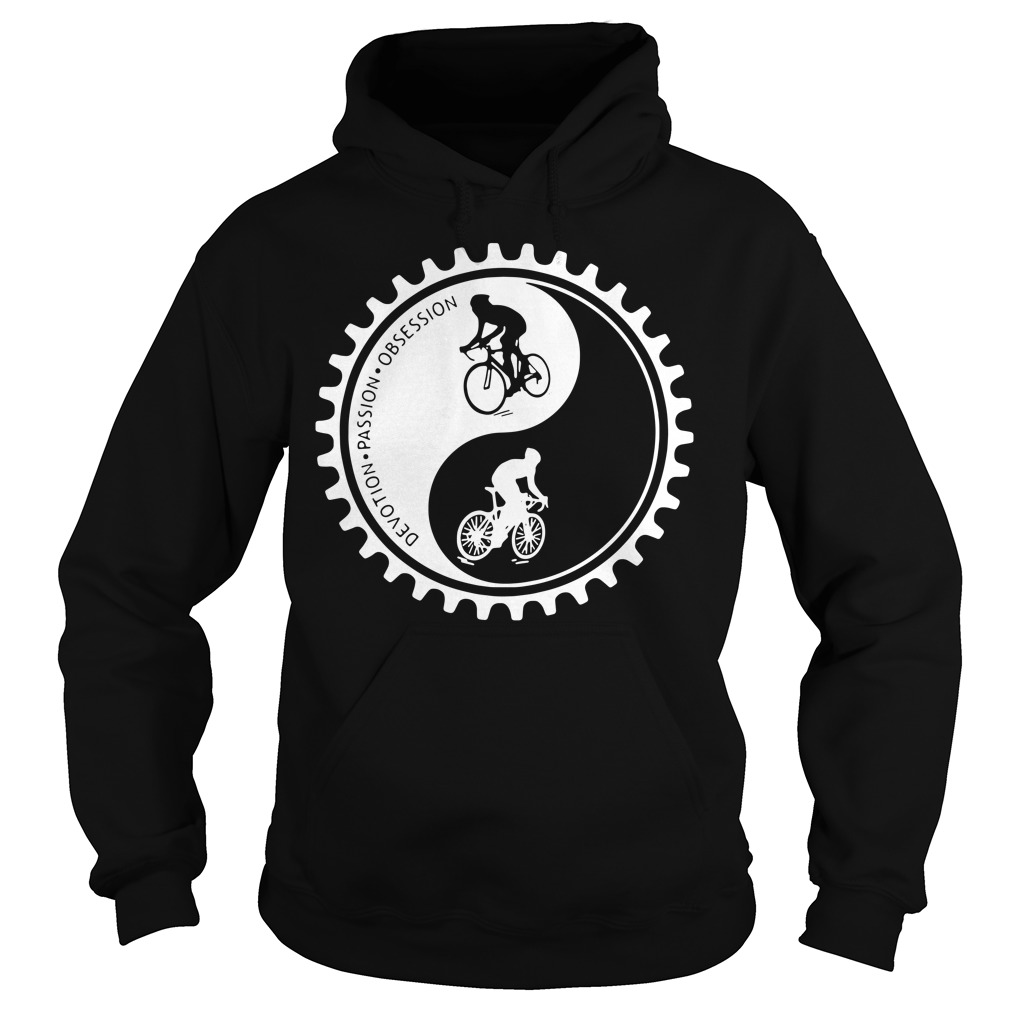 Bicycle Devotion Passion Obsession Hoodie