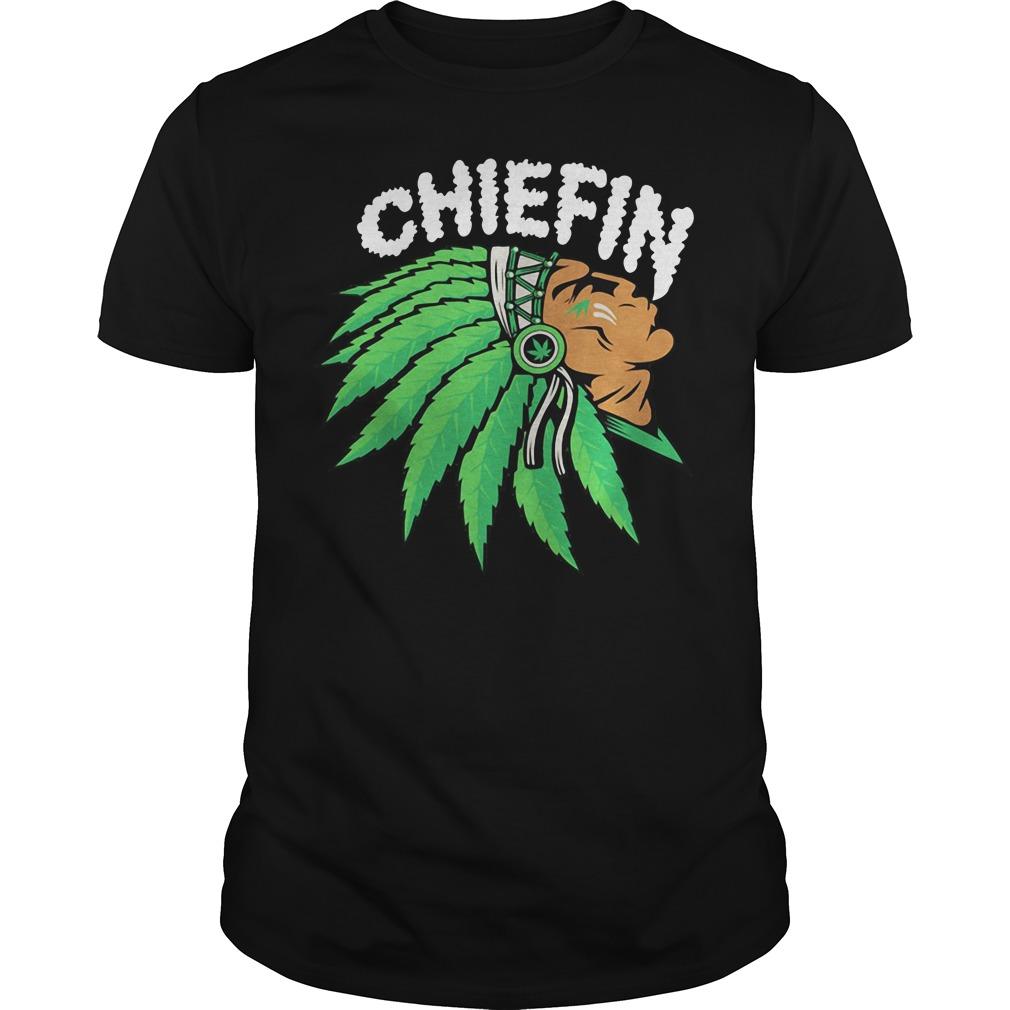 Chiefin Weed Smoking Indian Shirt