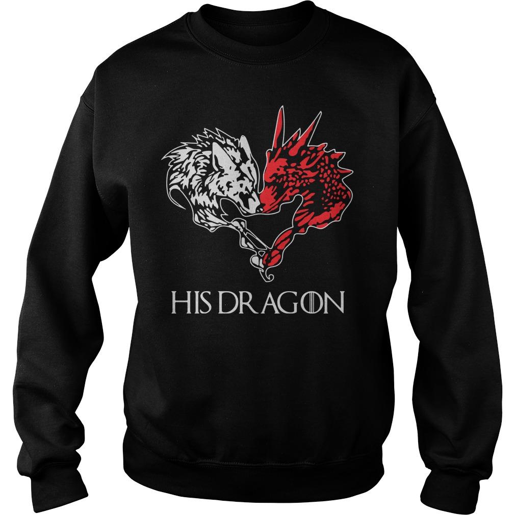 Game Of Thrones His Dragon Sweatshirt
