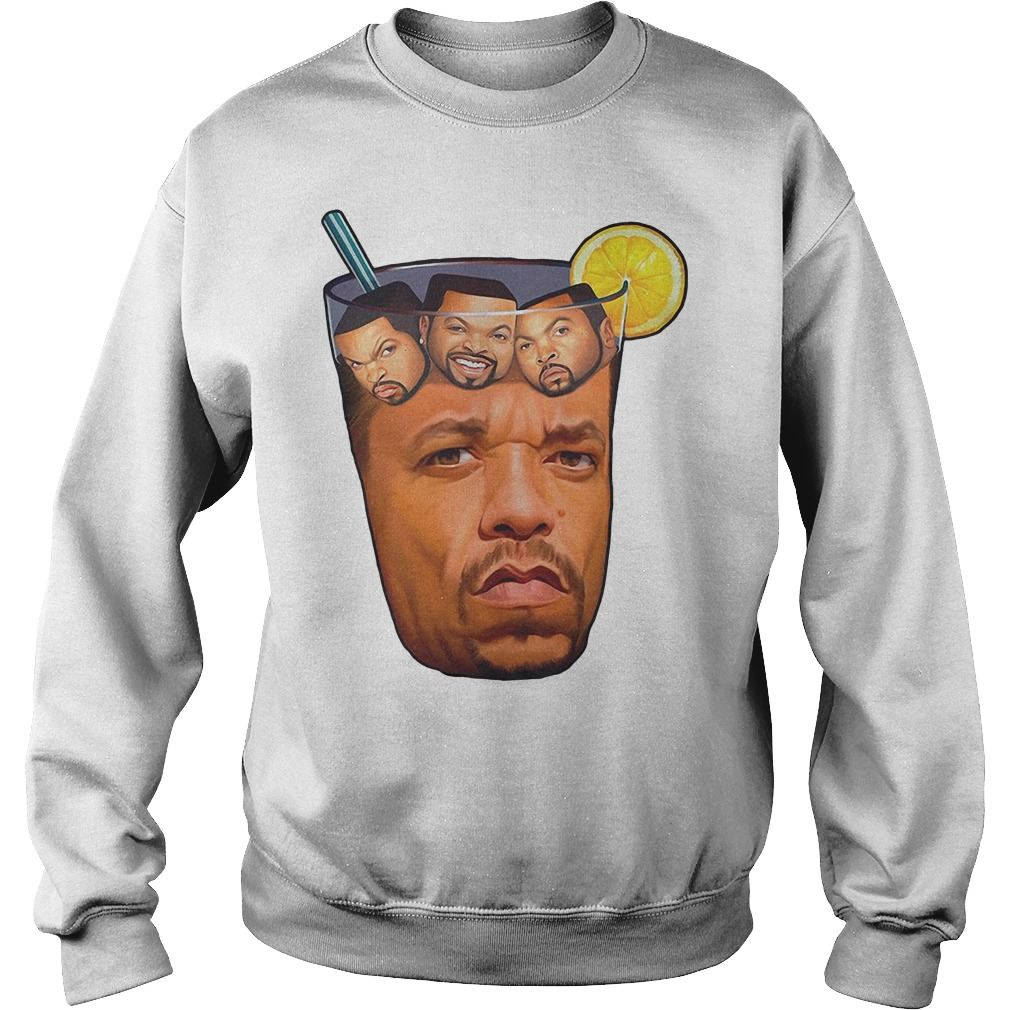 Ice T With Ice Cube Funny Rap Sweatshirt