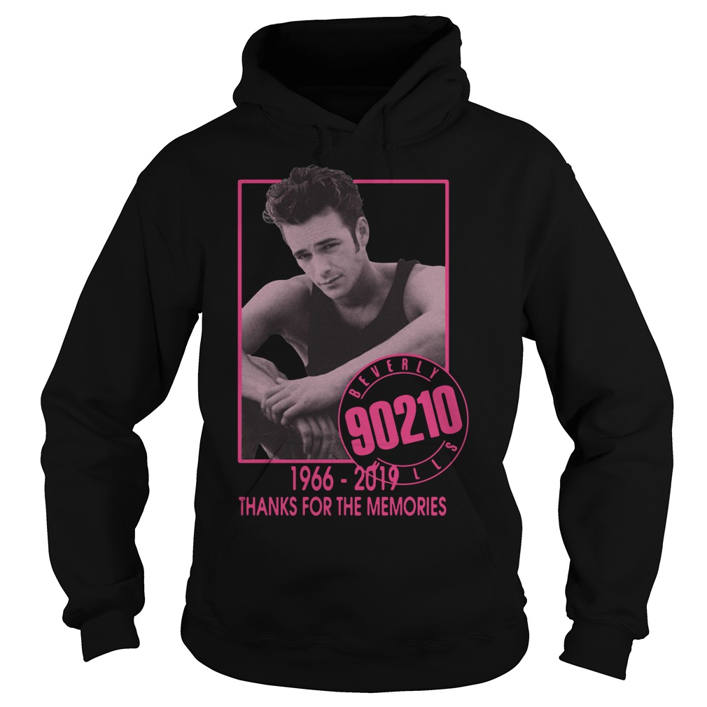 Luke Perry Beverly Hills 90210 1966 2019 Thank For The Memories Hoodie