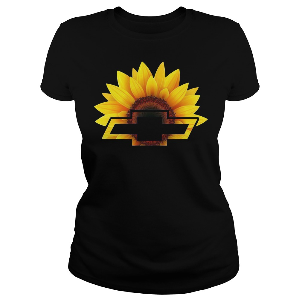 Official Chevrolet Sunflower Ladies Shirt