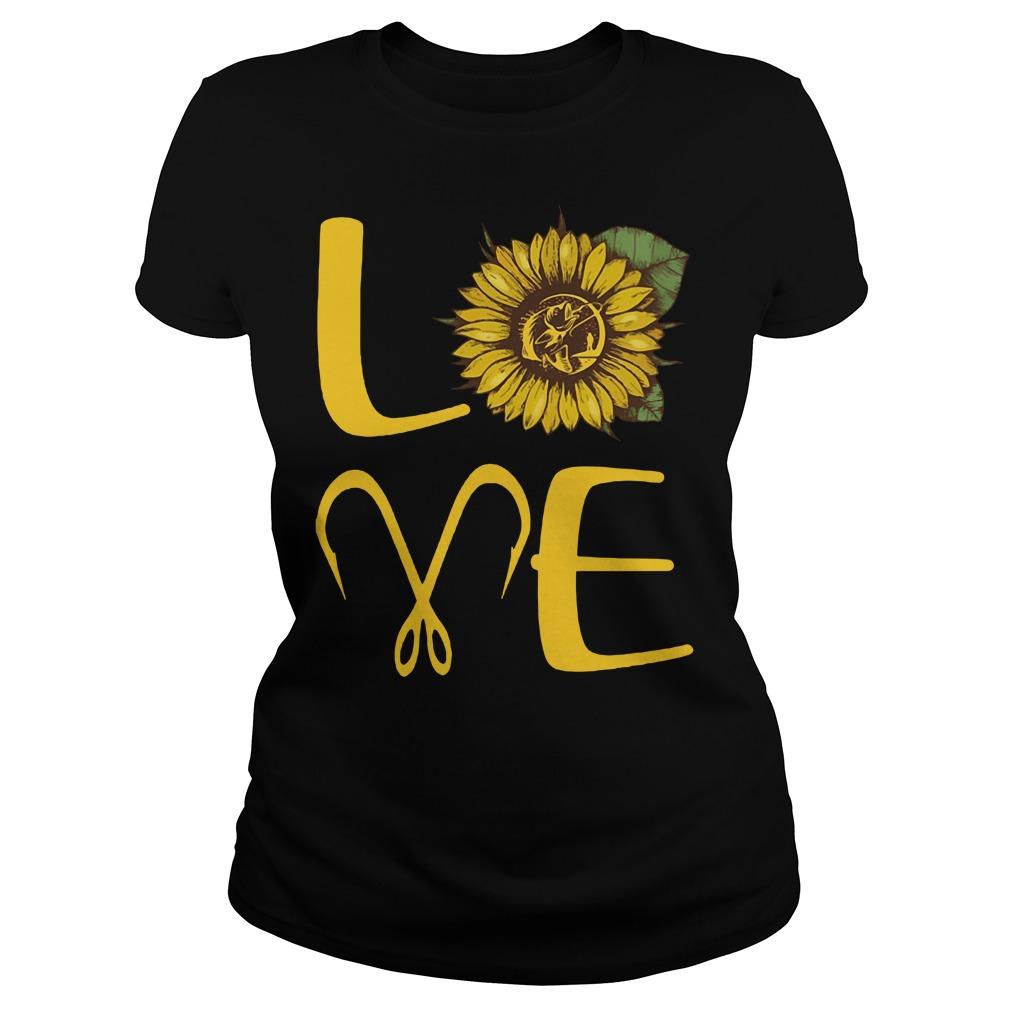Official Sunflower Love Fishing Ladies Shirt