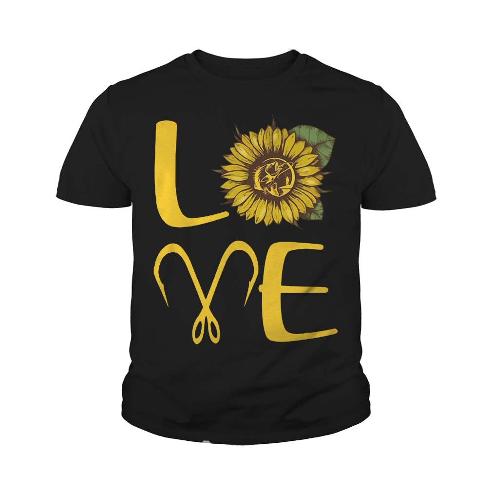Official Sunflower Love Fishing Youth Shirt